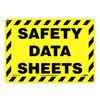 Safety Data Sheets Sign, Styrene