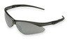 Jackson Safety®, Safety Glasses, Polycarbonate, Smoke Mirror, Framed, Black