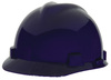 MSA V-Gard® 802972 Front Brim Hard Hat, 4-Point, Ratchet, Dark Blue , 6-1/2 to 8 in