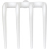 Vikan®, Shovel Rake Head, White, Polypropylene