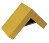Vestil SWC-22 Yellow Fabricated Steel Dual Sloped Wheel Chock