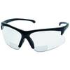 Jackson Safety®, Magnifying Safety Reader, Polycarbonate, Clear, Nylon, Framed, Black