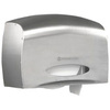 Kimberly-Clark 09601 Stainless Steel Coreless Tissue Dispenser