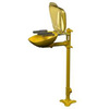 Halo, Eye / Face Wash Station, Pedestal Mount, Yellow
