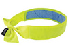 Ergodyne Chill-Its® 6700CT Evaporative Cooling Bandana, Hi-Viz Lime