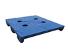 Microban®, Slip Sheet Pallet, 10000 lbs, 40 L x 48 W in, 6 in, High-Density Polyethylene, Blue, 2800 lbs, Impact-Resistant, Non Skid Surface, 4-Way Entry