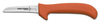 Deboning Knife, Clip Point / Slant Point, Ergonomic, Sharped, 5 in, 8-3/4 in, Slip-Resistant, Orange, 12 per Box, Re-Sharpenable Blade, 3-1/4 in