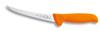 Friedr. DICK 8289115-53 Boning Knife, Stiff Curved, Steel, Plastic, Polished, Orange, 6/BX