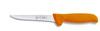 Friedr. DICK 8286813-53 Boning Knife, Stiff|Straight, Steel, Plastic, Polished, Slip-Resistant, Abrasion-Resistant, Orange, 6 per Box, Hi-Visibility Handle, 5 in
