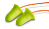 E-A-Rsoft, Disposable Earplug, Corded, Yellow, Bell, 33 dB