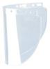 "Honeywell® Fibre-Metal® Clear Propionate Faceshield Window 8"" X 16.5"" X .06"""