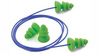 Comets®, Reusable Earplug, Corded, Green, Triple Flange, 25 dB