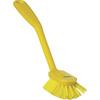 Vikan® Dish Brush, Polyester, Stiff Bristles, FDA, 1 inch