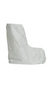 SafeSPEC, Boot Cover, Tyvek®, White, Elastic Top, Universal