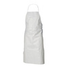 Kleenguard® A40, Disposable Apron, Microporous Film Laminate, White, 40 in, 28 in, Universal