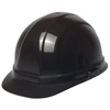 Omega II®, Front Brim Hard Hat, 6-Point, Slide Lock, Black, 6-1/2 to 8 (Standard) in
