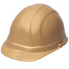 ERB Omega II®, Front Brim Hard Hat, 6-Point, Slide Lock, Gold, 6-1/2 to 8 (Standard) in