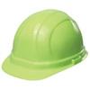 ERB Omega II®, Front Brim Hard Hat, 6-Point, Slide Lock, Hi-Viz Lime, 6-1/2 to 8 (Standard) in