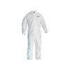 Kleenguard® A20, Disposable Coverall, SMS Fabric, White, 2X-Large, Elastic, No Hood
