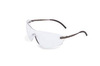 Uvex® by Honeywell S4530X Safety Glasses, Polycarbonate, Clear, Anti-Fog Scratch-Resistant, Framed, Black