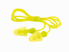 Tri-Flange, Reusable Earplug, Corded, Clear, Multi-Flange, 26 dB