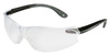 3M 11670-00000-20 Virtua V4 Safety Glasses, Black/Gray Temples