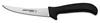 Sani-Safe®, Boning Knife, Flexible|Curved, High Carbon Steel, Polypropylene, Ergonomic, Polished, Sharped, 5 in, 10 in, Slip-Resistant, Black, 12 per Box, Re-Sharpenable Blade, 5 in