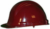 Honeywell North A79R Front Brim Hard Hat, Burgundy