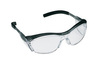 Nuvo, Safety Glasses, Polycarbonate, Clear, Anti-Fog, Half-Frame, Gray