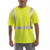 Tingley Job Sight S75022 Class 2 T-Shirt, Lime