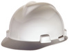 MSA V-Gard® Standard Slotted Hard Cap with Staz-On® Suspension