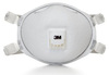 Disposable Respirator, N95, White, Universal