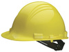 Honeywell North A79 Front Brim Hard Hat, Yellow