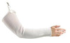 Whizard® 134030 Arm Guard with Clip, Fiber Stainless Steel, 20 in., White
