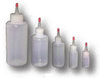 Dispensing Bottle, Low-Density Polyethylene, Round, Clear, 16 oz
