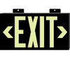 Exit Sign, Rigid Plastic