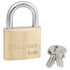 Non-Rekeyable Padlock, Brass, Keyed Alike