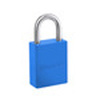 Pro Series®, Safety Lockout Padlock, Aluminum, Blue, Keyed Alike