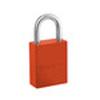 Pro Series®, Safety Lockout Padlock, Aluminum, Orange, Keyed Alike