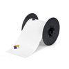 Chemical Labels, Vinyl Film, Adhesive Backed, Red / Yellow / Blue / White