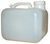 General Purpose Carboy, Polyethylene, Natural, 2.5 gal
