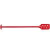 Paddle Scraper, Polypropylene, 13 in, 6 in, Red