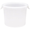 Rubbermaid FG572300WHT White Round Food Storage Container, 6 Quart