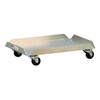 Bun Pan Dolly 99262, 18-3/8 W x 26-1/2 D x 6 H in, 100 LB, Aluminum, 1
