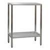 Welded Shelving, Aluminum, 48 in, 20 in