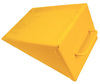 National Marker WCS1 Yellow Steel Welded Wheel Chock 10 x 8 x 6