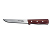 Victorinox 40010 6-inch Wide Stiff Boning Knife with Rosewood Handle