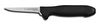 Poultry Knife, Sharped, 3-1/2 in, 5 in, Ergonomic, High Carbon Steel, 8-1/2 in, Slip-Resistant, Black, Re-Sharpenable Blade