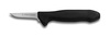 Poultry Knife, Sharped, 2-1/2 in, 5 in, Ergonomic, High Carbon Steel, 7-1/2 in, Slip-Resistant, Black, Re-Sharpenable Blade