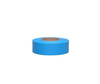 Barricade Tape, Solid Color, Fluorescent Blue, 1-3/16 in, 150 ft